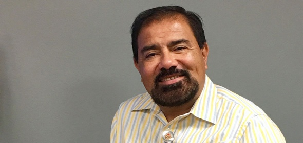 Community health worker Walter Lopez